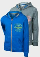MINOTI BOYS PRINT AND WASHED EFFECT HOODED SWEATSHIRT *SIZES 8/9yrs to 12/13yrs*