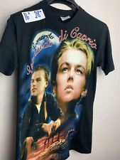 Vintage 90s Leonardo Di Caprio Movie Film Promo T Shirt Original Tee Titanic