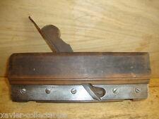 Old MATHIESON & SON Drawer Bottom GROOVE Steel Skate + Fence Moulding Plane B*