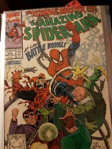 Marvel Comic The Amazing Spider-Man #338 Return of Sinister Six LARSEN + GORDON