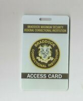 The Mick TV-Show Screen Used Braddock Prison Prop Access Cards Ep 203 & 209 (B)