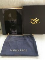JIMMY PAGE GENESIS PUBLICATIONS SIGNED COLLECTOR LEATHER RARE BOOK LED ZEPPELIN