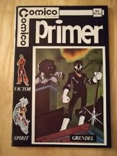 Comics Primer #2 1st appearance of Grendel and Argent -  Matt Wagner 1982