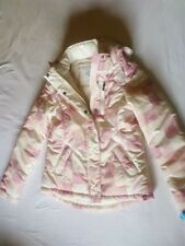 edc youth by Esprit Winterjacke L 164 Basic extra warm cream rose WOW Kapuze NEU
