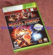 Mortal Kombat: Komplete Edition 4 New Characters & Skins (Xbox 360 PH) BRAND NEW
