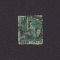 TRINIDAD 1861, Sc# 36, CV $85, 'Britannia', Used