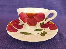 Southern Potteries Wind Flower CUP & SAUCER have 100s more Blue Ridge items