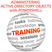 Administering ACTIVE DIRECTORY OBJECTS with POWERSHELL - Video Training Tutorial