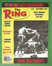 #DD.  THE RING BOXING MAGAZINE, SEPTEMBER 1979