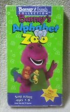 BARNEY'S ALPHABET ZOO Barney & Friends Collection VHS Video Tape 1994 Lyons Grp