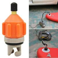 SUP Electric Pump Air Valve Adapter Inflatable Boat Accessory Paddle Board Kayak