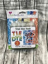 Create Basics Tie Dye Kit Set - NAUTICAL- 18 Piece Set 3 Colors in Handy Bottles