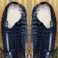 Water Wave Curly 9A 1B Malaysian Human Hair Wigs Lace Front/Full Lace Wig Soft
