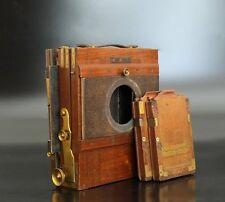 Antique Wooden Camera 'Eugen Klein Berlin' 5x7 4x5 wet plate Holzkamera