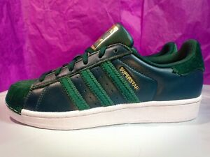 Adidas Superstar W Collegiate Green Leather Women's /AC7211/US 7
