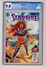 DC's Starfire #1 Lupacchino Variant Cover CGC 9.8