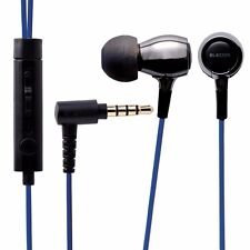 ELECOM EHP-BS100 BK In-Ear Headset for Smartphones 'AQUA' Black NEW from Japan