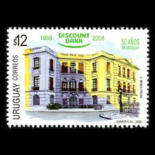 Uruguay 2008 - 50th Anniversary of the Discount Bank Architecture - Sc 2229 MNH
