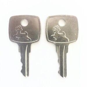 2 John Deere AR51481 Ignition Keys - Fast Free Shipping!