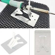Electric Soldering Iron Pen Holder Metal Base Solder Iron Stand DIY Craft Tool