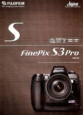 FUJIFILM FINEPIX S3 PRO DIGITAL CAMERA BROCHURE -FUJI FILM