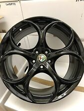 Alfa Original Giulia QV Veloce Felgen 159 Wheels Rims Velgen Cerchi 19 Black