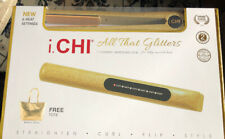 I.CHI All That Glitters -Gold Glitter Ceramic Iron And Gold Tote