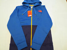 The North Face AVIDOR FULL ZIP HOODIE Sweatshirt Blue A5S2N6Q Mens SIZE MEDIUM M