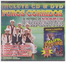 PUROS CORRIDOS El Misterio de Michoacan y Sus Diamantes (CD/DVD, 2008, Vina) NEW