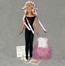 Barbie 1960s SKIPPER Doll Blonde Clothes 1964 BALLET LESSONS CLASS M/C