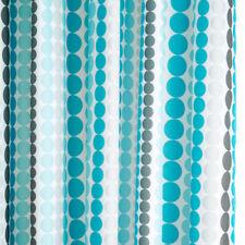 Rideaux de douche bleus pour cuisine