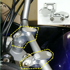 Titanium 22mm Motorcycle Handlebar Risers Kit Handle Bar Extension Back Moved Up