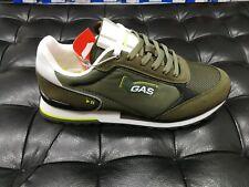 Scarpe da uomo GAS GAM113905 7272 verde sneakers sportiva passeggio calzature