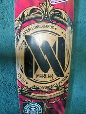 """Mercer Longboards 40"""" Skateboard Homegrown In Seattle Washington"""