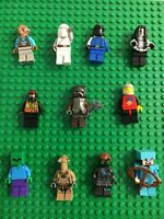 Lego Minifigure lot of 10 Random pick Star Wars Ninjago City