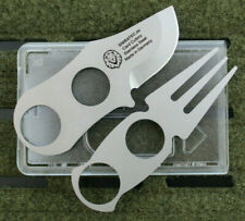 Simbatec Card Cutlery - Kompaktbesteck Mini Besteck Bushcraft Outdoor Stahl EDC