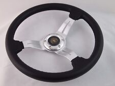 Ez-go POLARIS Ranger Silver steering wheel golf cart W/ Adapter 3 spoke Club Car