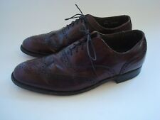 Dexter Mens Shoes Cordovan Brogues Wingtip Oxfords Size 9.5