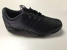 adidas Mens Tour Traxion TR Golf Shoes Q44608 Size 9.5 Medium Black