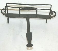 Antique Early Wrought Iron Open Fire Bread Toaster