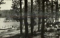 Averill Park NY Cancel 1925 - Picnic Grove Crystal Lake Amusement Park RPPC