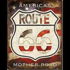 Metal Sign Route 66 America's Mother Road (30 x 40 cm)