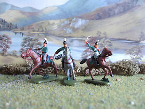 HaT Napoleonic Russian dragoons 1:72 painted