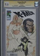 Uncanny X-Men #529 CGC 9.6 SS Matt Fraction 2010 Terry Dodson