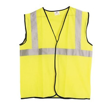 SAS Safety Vest Yellow ANSI Class 2 High Visibility Reflective Hi XL 690-1210