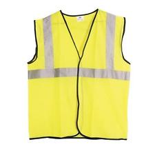 SAS Safety Vest Yellow ANSI Class 2 High Visibility Reflective Hi XL 690-1210