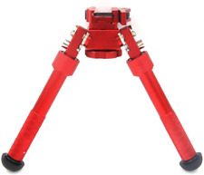 Jinse Tactical Bipod Picatinny Rail Bipod Folding Swivel Adjustable 6.5-9 Inches