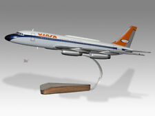 Convair 880 Aeroclassics Viasa Solid Dry Wood Handmade Airplane Desktop Model