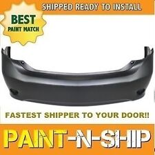 Fits; 2009 2010 Toyota Corolla Rear Bumper Painted to Match (TO1100264)