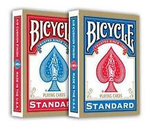 2 mazzi Carte Bicycle Standard (dorso Blu e Rosso) con 2 Carte Gaff in Omaggio